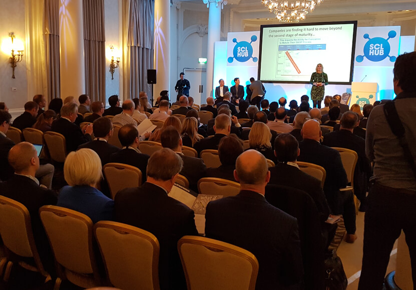 The SCL HUB; a one-day supply chain conference.
